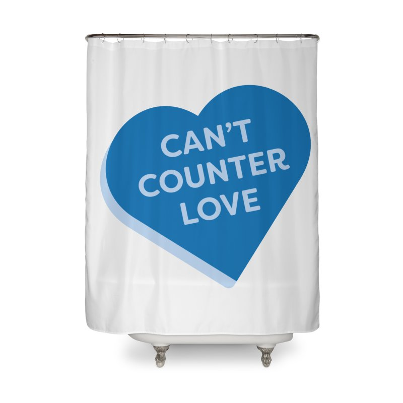 Can't Counter Love (Magic the Gathering Valentine) Home Shower Curtain by The Schwaggering