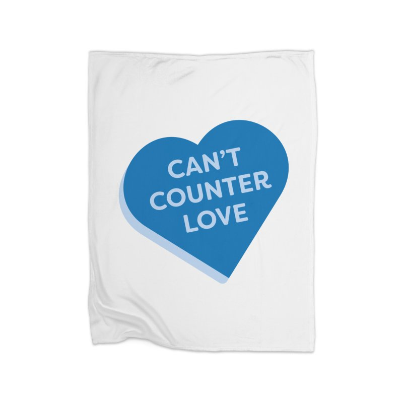 Can't Counter Love (Magic the Gathering Valentine) Home Blanket by The Schwaggering