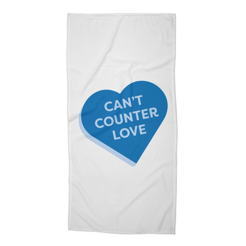 Can't Counter Love (Magic the Gathering Valentine) Accessories Beach Towel by The Schwaggering