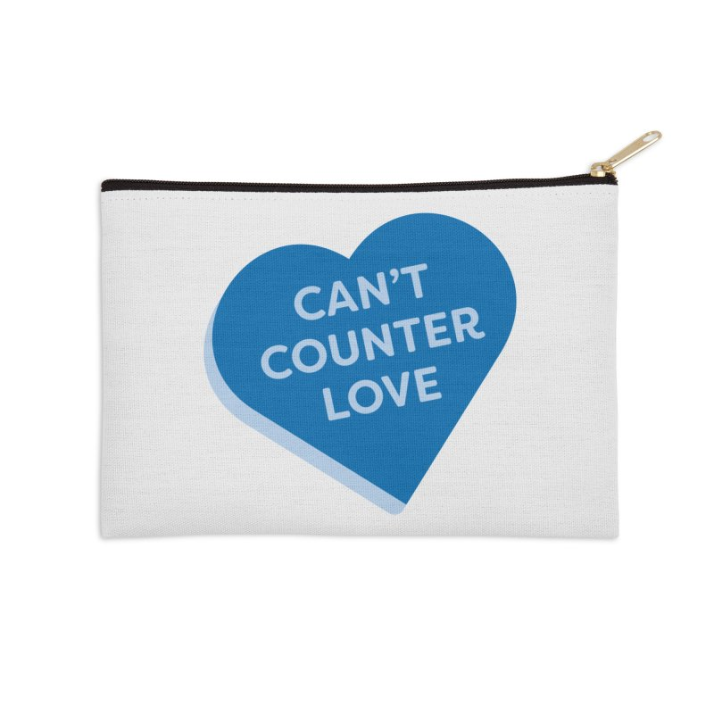 Can't Counter Love (Magic the Gathering Valentine) Accessories Zip Pouch by The Schwaggering