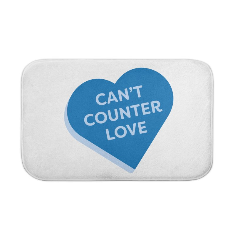 Can't Counter Love (Magic the Gathering Valentine) Home Bath Mat by The Schwaggering