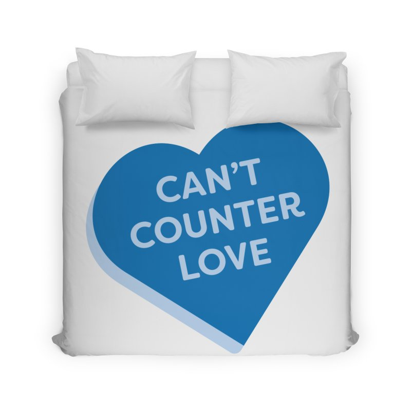 Can't Counter Love (Magic the Gathering Valentine) Home Duvet by The Schwaggering
