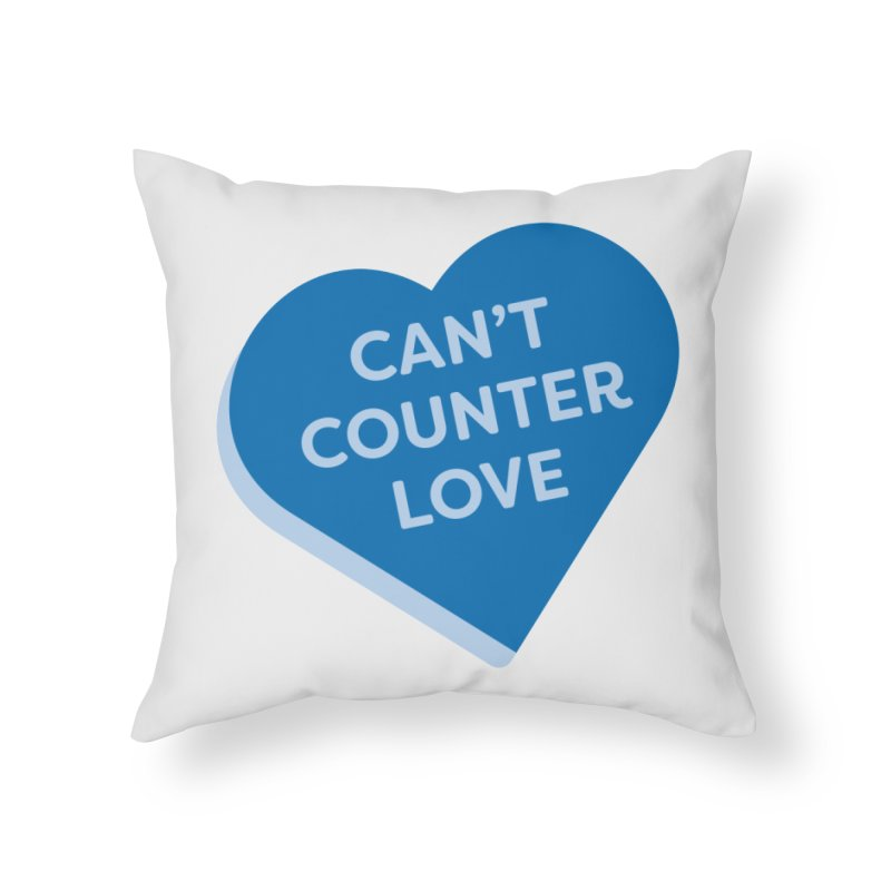 Can't Counter Love (Magic the Gathering Valentine) Home Throw Pillow by The Schwaggering