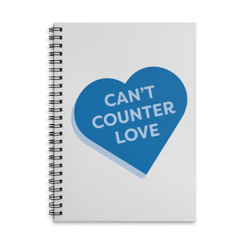 Can't Counter Love (Magic the Gathering Valentine) Accessories Notebook by The Schwaggering