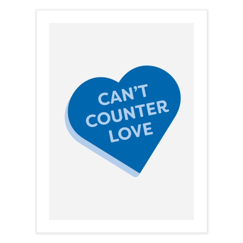 Can't Counter Love (Magic the Gathering Valentine) Home Fine Art Print by The Schwaggering