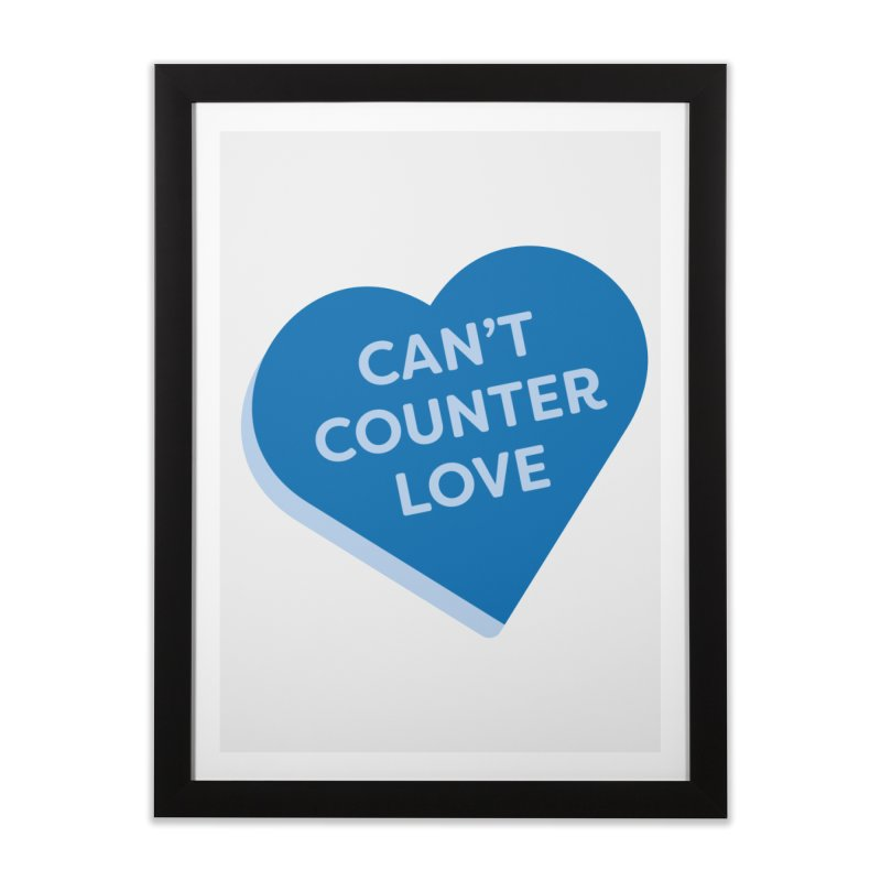 Can't Counter Love (Magic the Gathering Valentine) Home Framed Fine Art Print by The Schwaggering