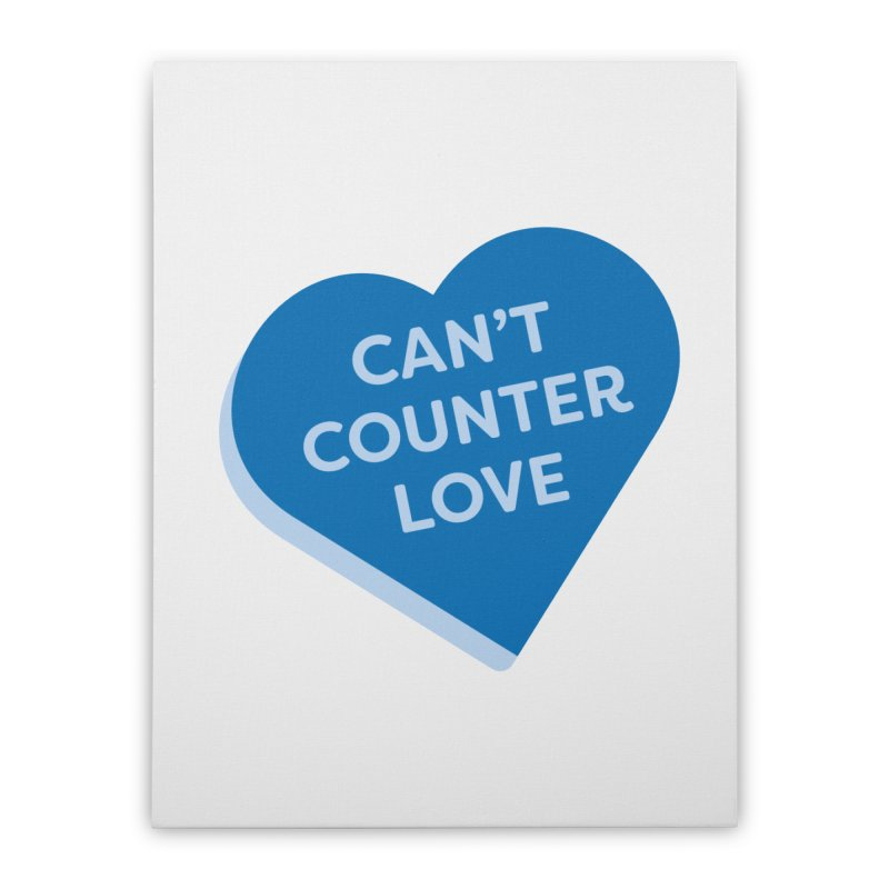 Can't Counter Love (Magic the Gathering Valentine) Home Stretched Canvas by The Schwaggering