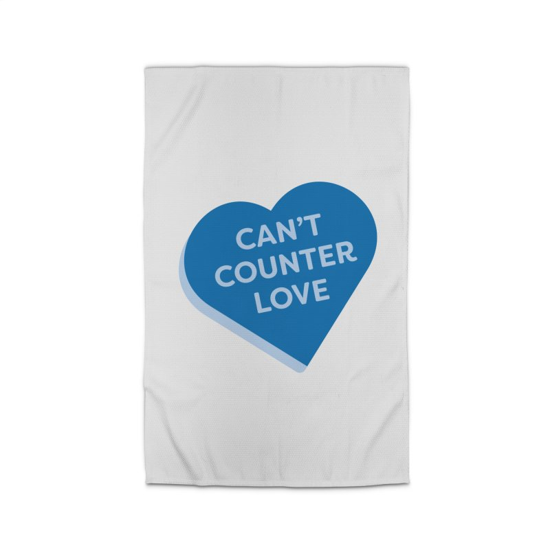 Can't Counter Love (Magic the Gathering Valentine) Home Rug by The Schwaggering