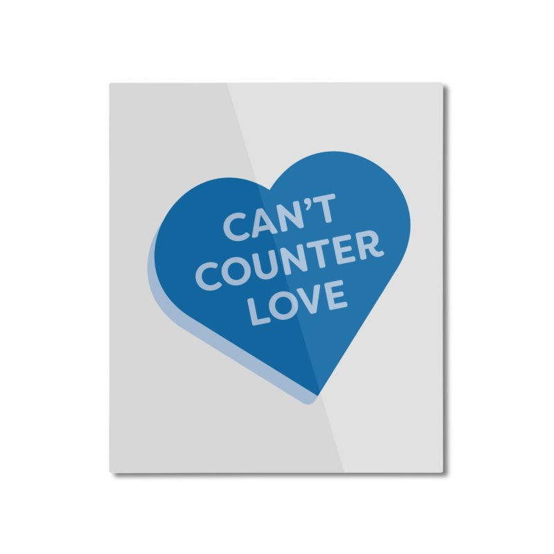 Can't Counter Love (Magic the Gathering Valentine) Home Mounted Aluminum Print by The Schwaggering