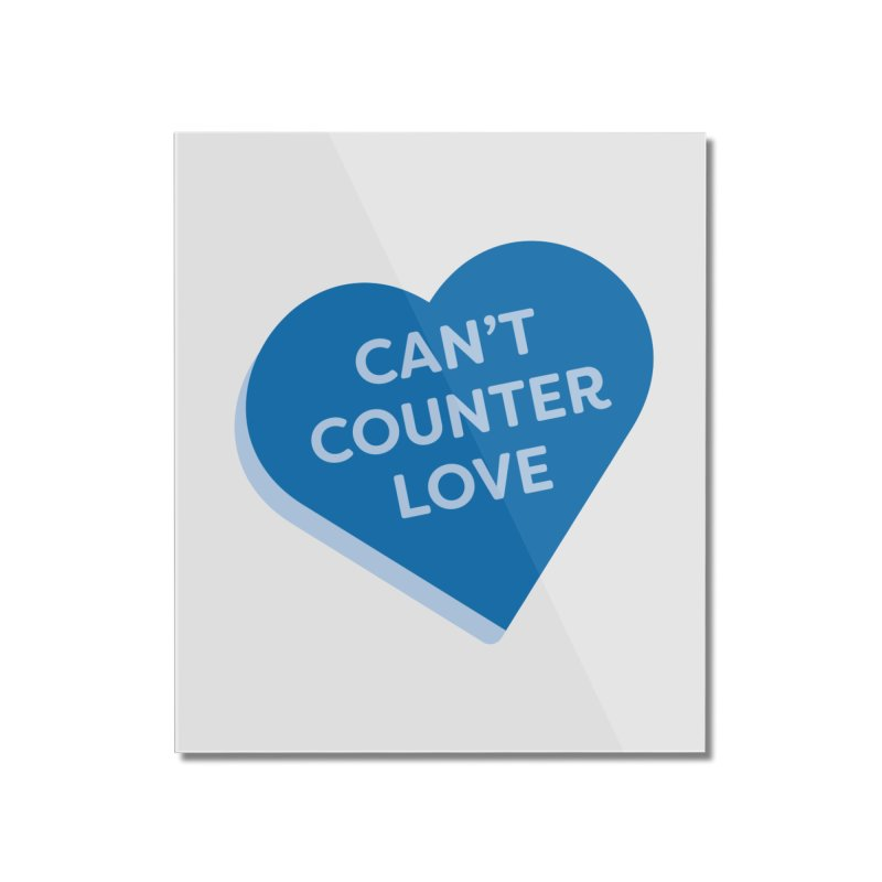 Can't Counter Love (Magic the Gathering Valentine) Home Mounted Acrylic Print by The Schwaggering