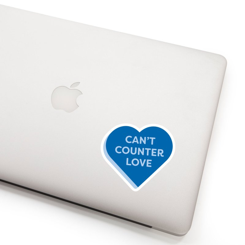 Can't Counter Love (Magic the Gathering Valentine) Accessories Sticker by The Schwaggering