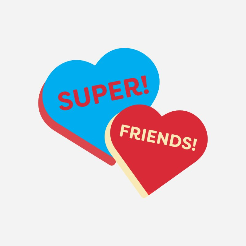 Super! Friends! (Magic the Gathering Valentine - Superfriends Commander) Accessories Mug by The Schwaggering