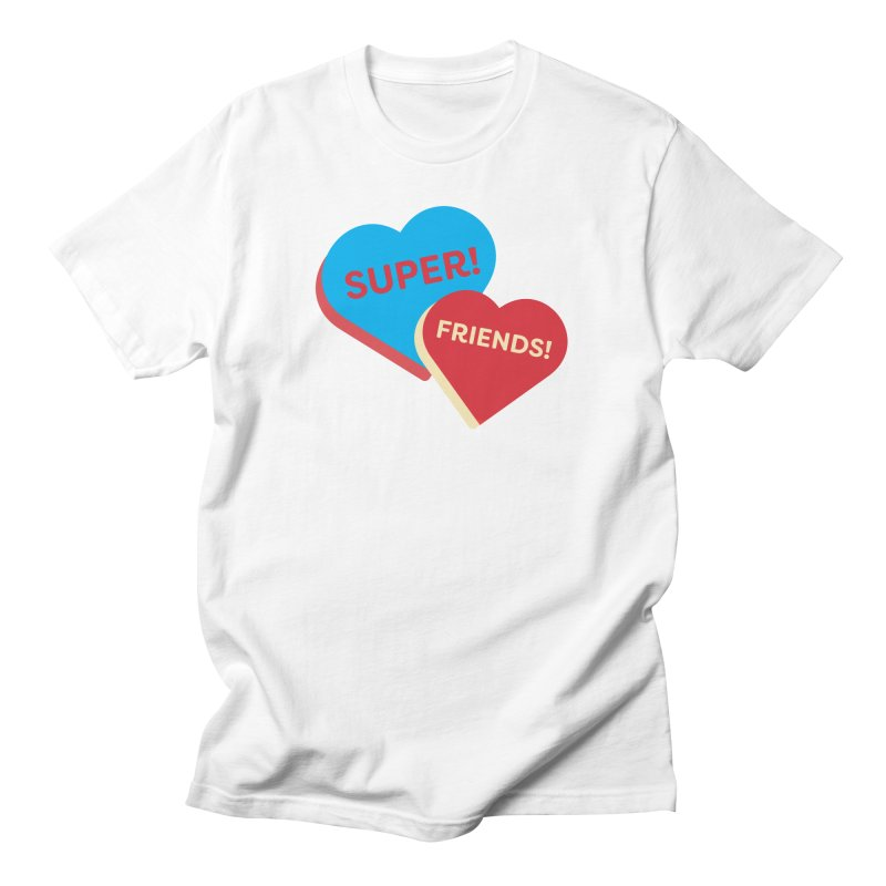Super! Friends! (Magic the Gathering Valentine - Superfriends Commander) Men's T-Shirt by The Schwaggering
