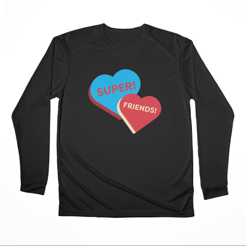 Super! Friends! (Magic the Gathering Valentine - Superfriends Commander) Men's Longsleeve T-Shirt by The Schwaggering