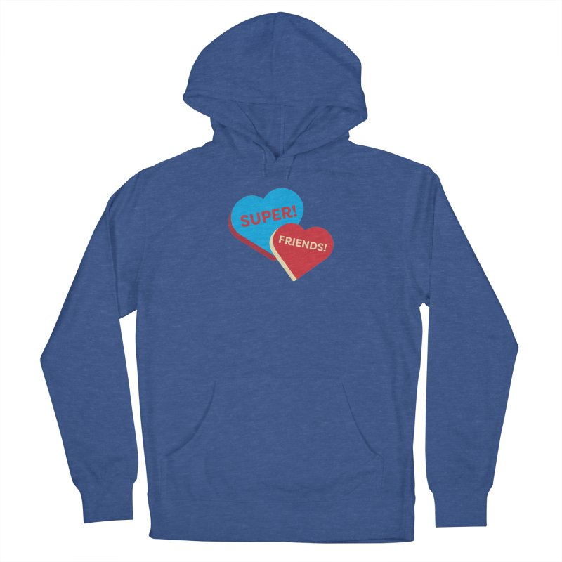 Super! Friends! (Magic the Gathering Valentine - Superfriends Commander) Men's Pullover Hoody by The Schwaggering