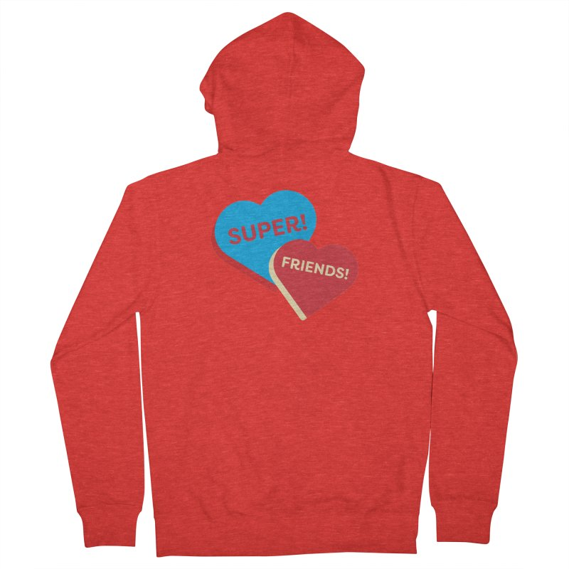 Super! Friends! (Magic the Gathering Valentine - Superfriends Commander) Women's Zip-Up Hoody by The Schwaggering
