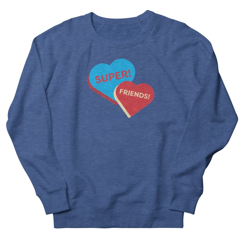 Super! Friends! (Magic the Gathering Valentine - Superfriends Commander) Women's Sweatshirt by The Schwaggering