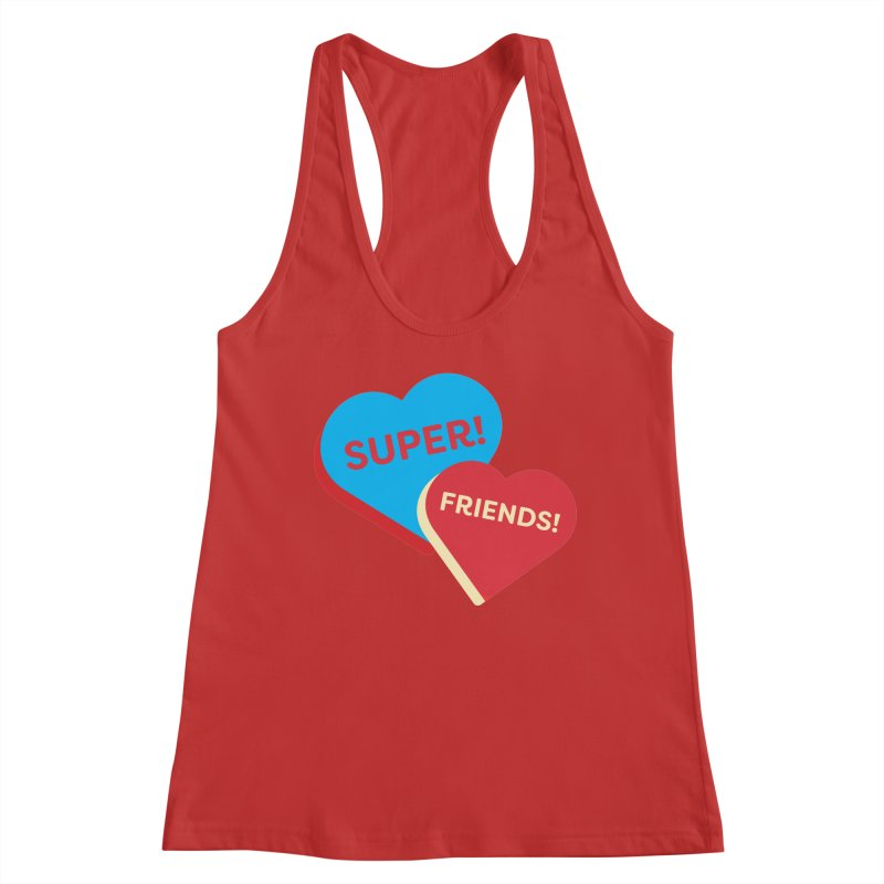 Super! Friends! (Magic the Gathering Valentine - Superfriends Commander) Women's Tank by The Schwaggering
