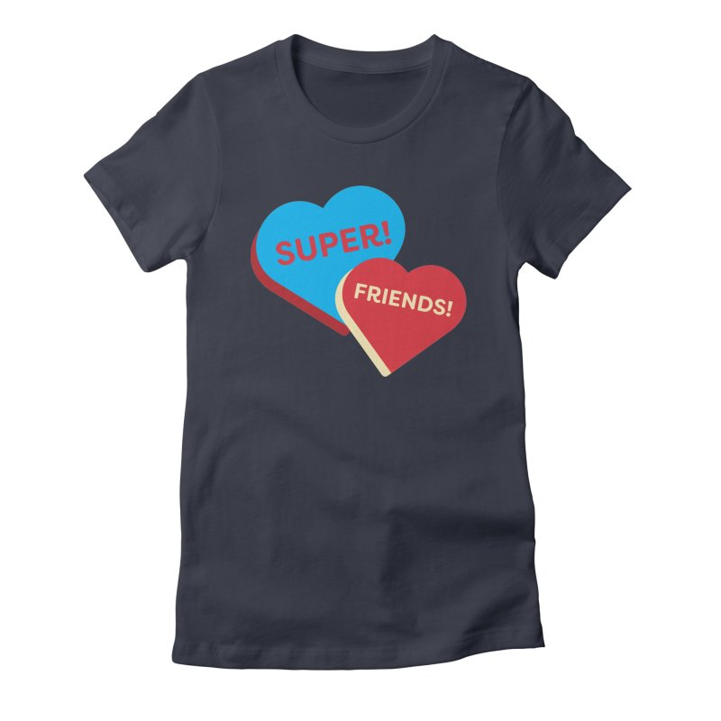 Super! Friends! (Magic the Gathering Valentine - Superfriends Commander) Women's T-Shirt by The Schwaggering