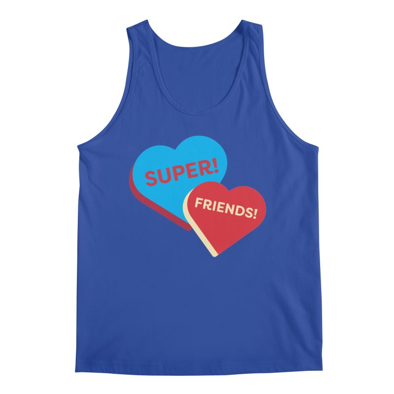 Super! Friends! (Magic the Gathering Valentine - Superfriends Commander) Men's Tank by The Schwaggering