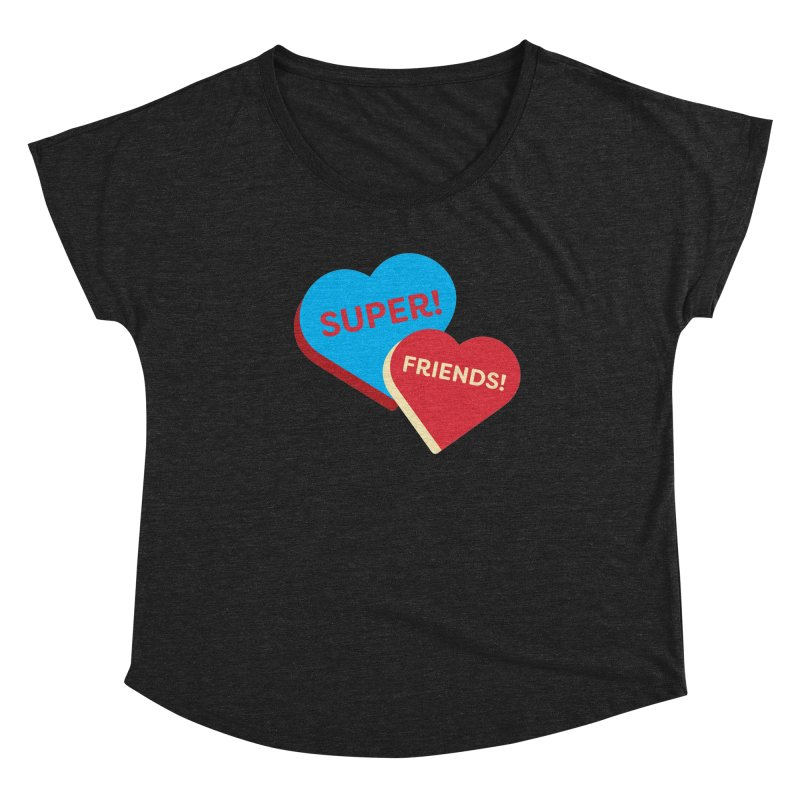 Super! Friends! (Magic the Gathering Valentine - Superfriends Commander) Women's Scoop Neck by The Schwaggering