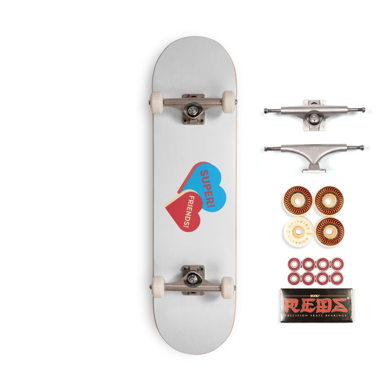 Super! Friends! (Magic the Gathering Valentine - Superfriends Commander) Accessories Skateboard by The Schwaggering