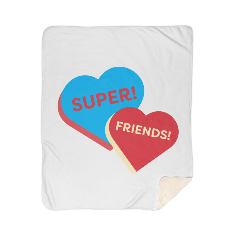 Super! Friends! (Magic the Gathering Valentine - Superfriends Commander) Home Blanket by The Schwaggering
