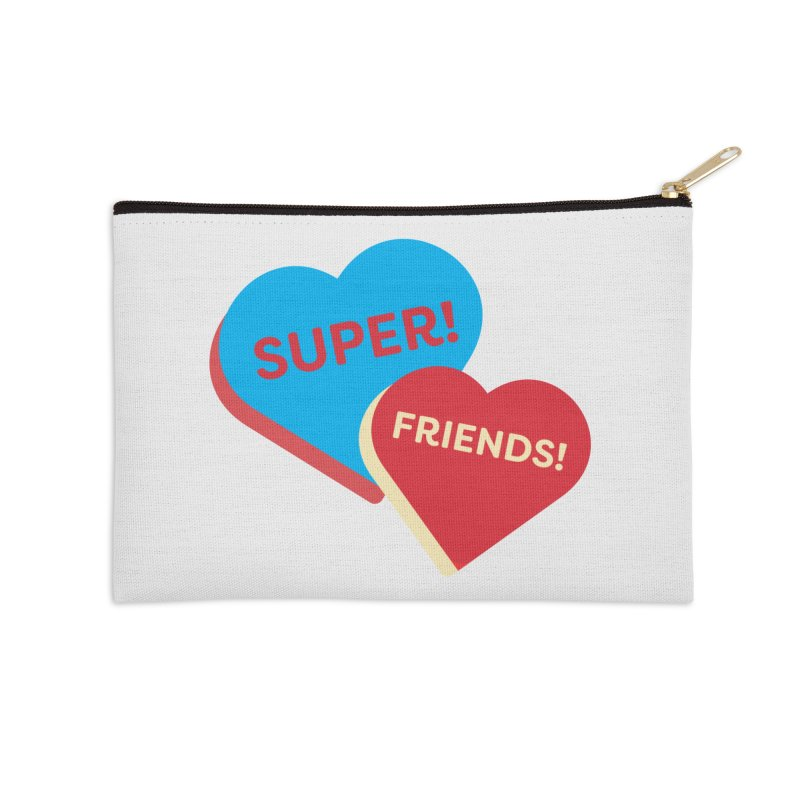 Super! Friends! (Magic the Gathering Valentine - Superfriends Commander) Accessories Zip Pouch by The Schwaggering