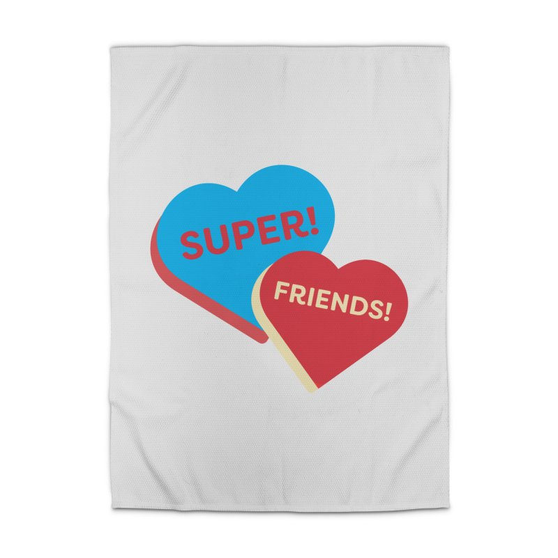 Super! Friends! (Magic the Gathering Valentine - Superfriends Commander) Home Rug by The Schwaggering