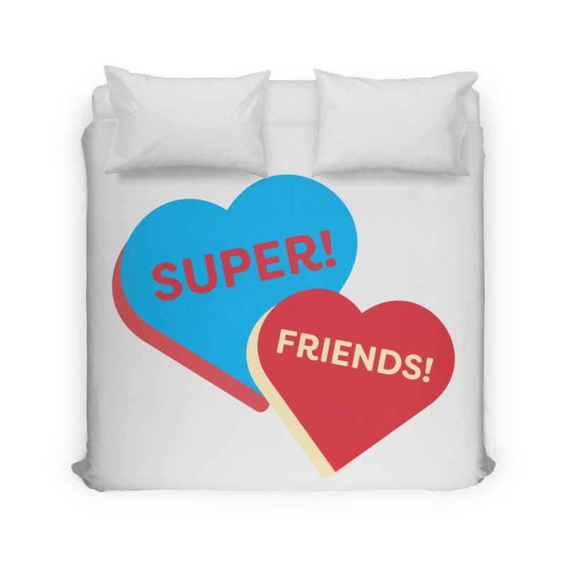 Super! Friends! (Magic the Gathering Valentine - Superfriends Commander) Home Duvet by The Schwaggering