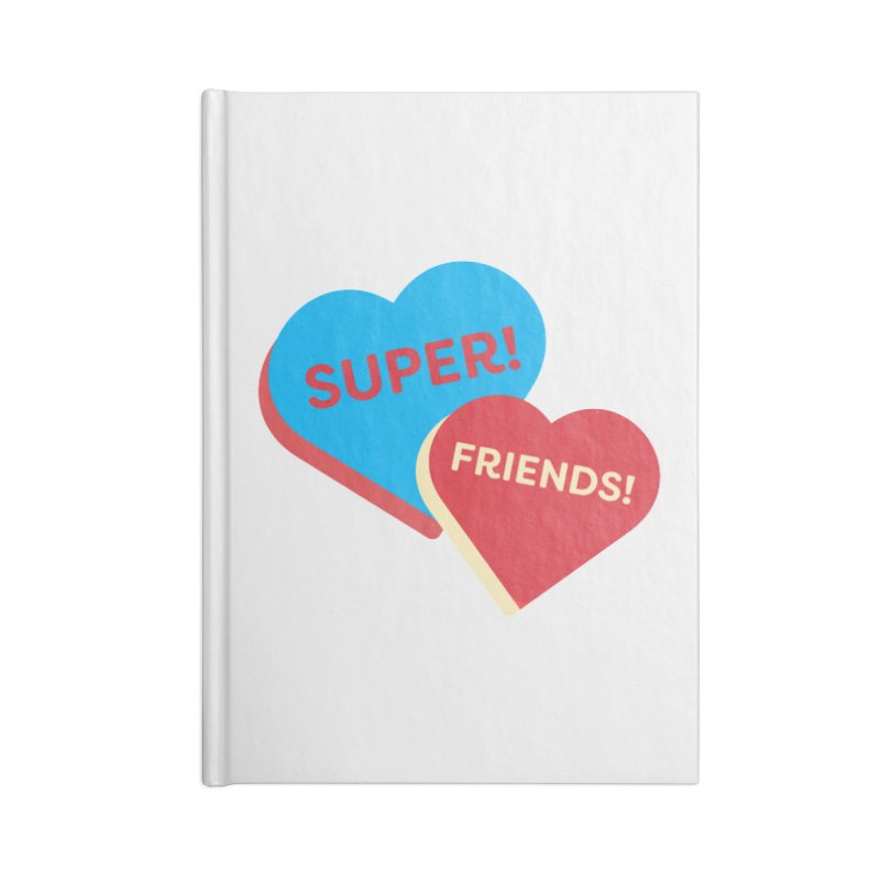 Super! Friends! (Magic the Gathering Valentine - Superfriends Commander) Accessories Notebook by The Schwaggering