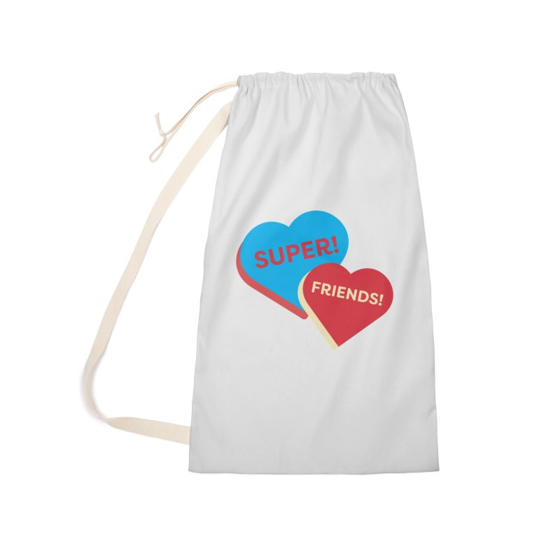 Super! Friends! (Magic the Gathering Valentine - Superfriends Commander) Accessories Bag by The Schwaggering