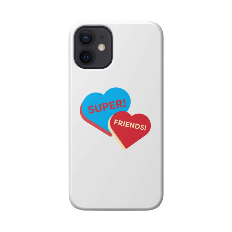 Super! Friends! (Magic the Gathering Valentine - Superfriends Commander) Accessories Phone Case by The Schwaggering