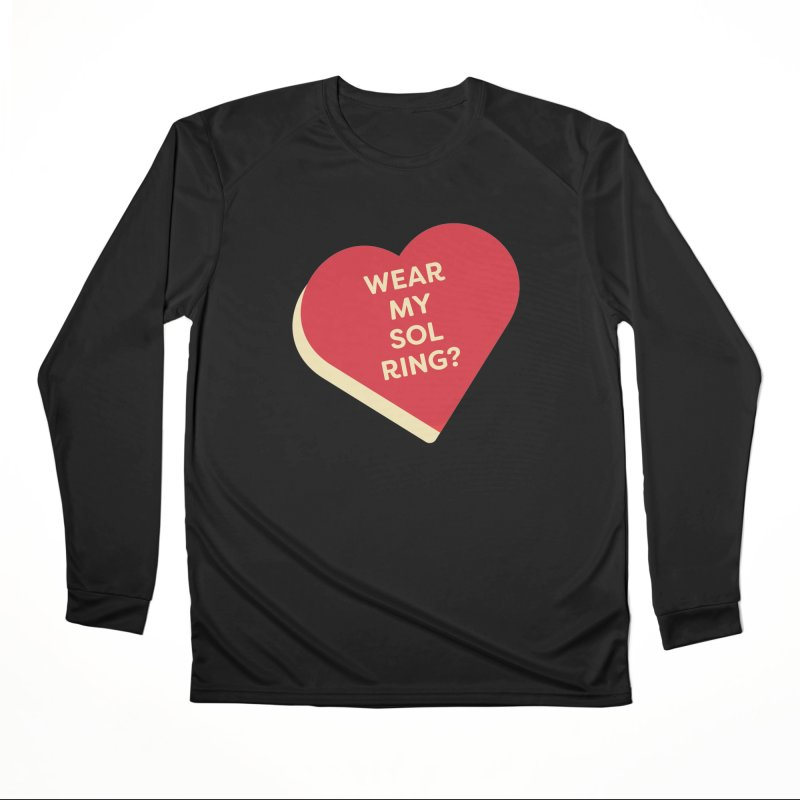 Wear my Sol Ring? (Magic the Gathering Valentine - Sol Ring Commander) Men's Longsleeve T-Shirt by The Schwaggering