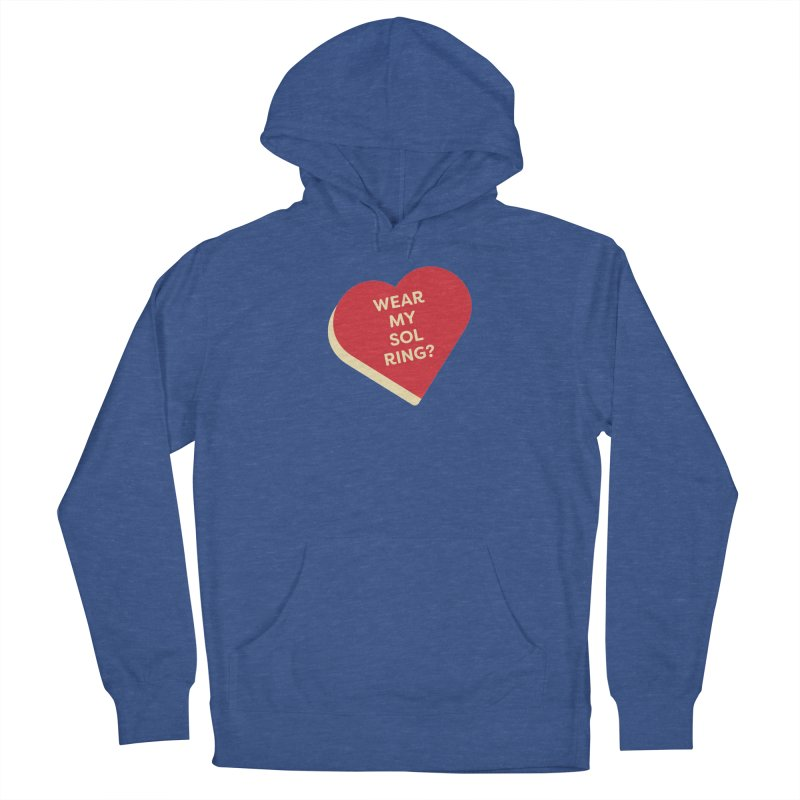 Wear my Sol Ring? (Magic the Gathering Valentine - Sol Ring Commander) Women's Pullover Hoody by The Schwaggering
