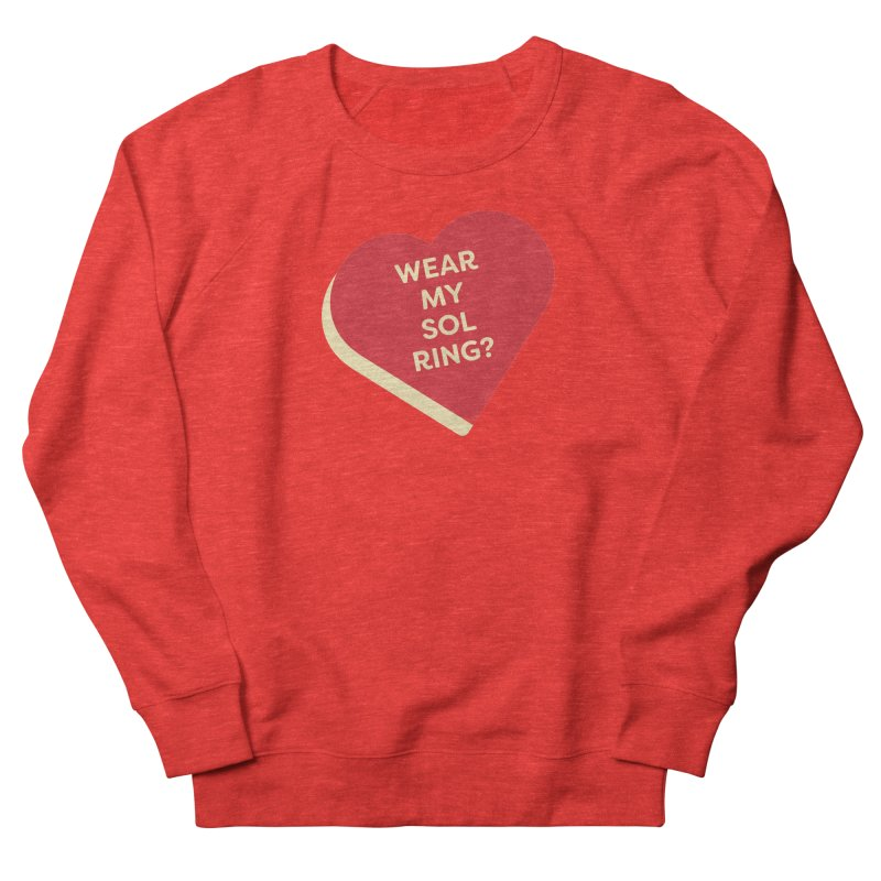 Wear my Sol Ring? (Magic the Gathering Valentine - Sol Ring Commander) Men's Sweatshirt by The Schwaggering