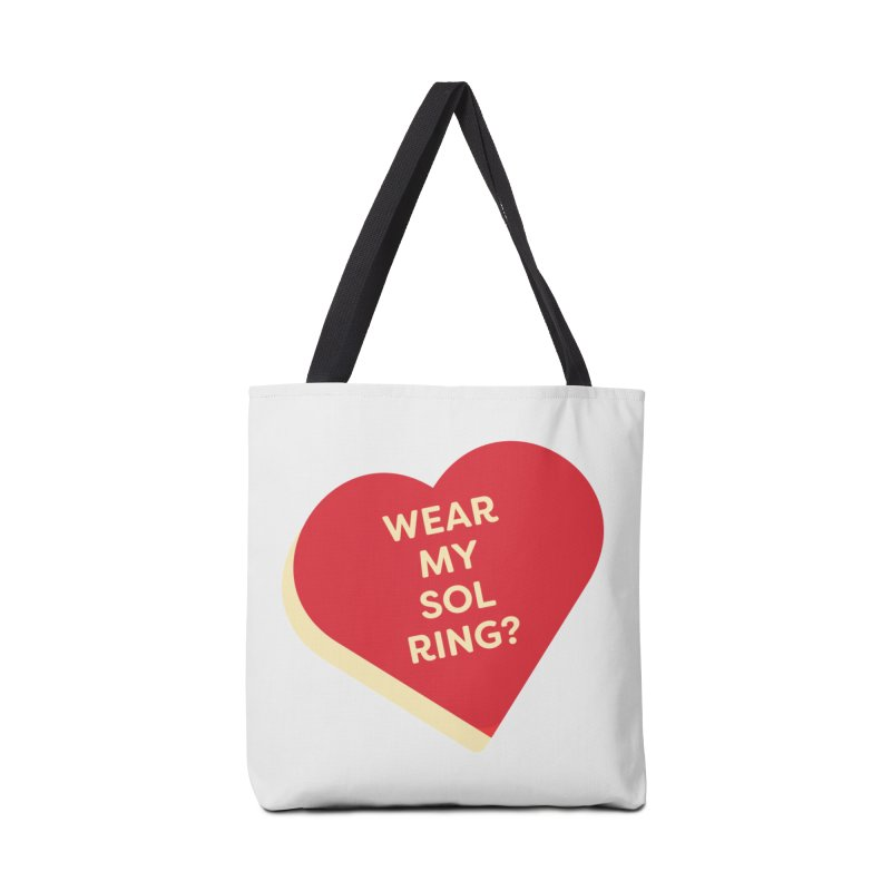 Wear my Sol Ring? (Magic the Gathering Valentine - Sol Ring Commander) Accessories Bag by The Schwaggering