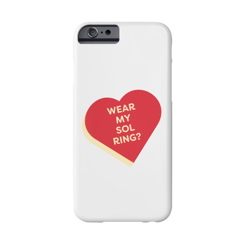 Wear my Sol Ring? (Magic the Gathering Valentine - Sol Ring Commander) Accessories Phone Case by The Schwaggering