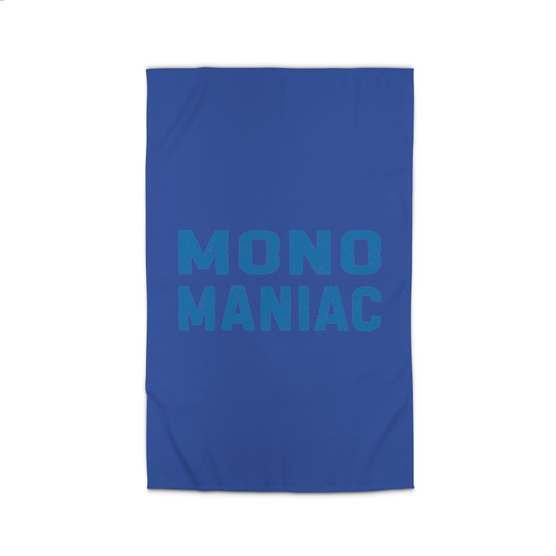 Mono Maniac (Blue) Home Rug by The Schwaggering