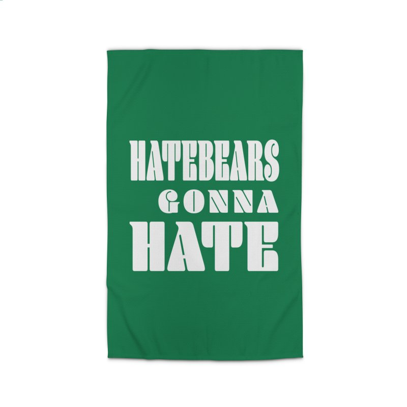 Hatebears Gonna Hate Home Rug by The Schwaggering