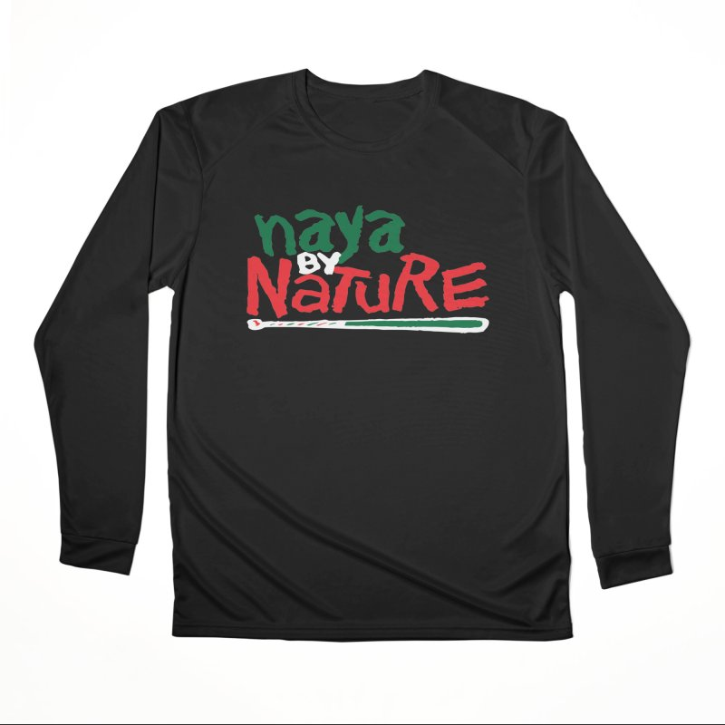 Naya By Nature Men's Longsleeve T-Shirt by The Schwaggering