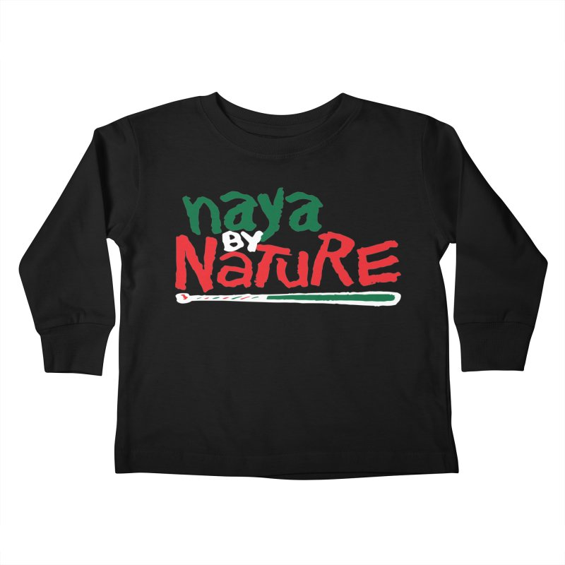 Naya By Nature Kids Toddler Longsleeve T-Shirt by The Schwaggering