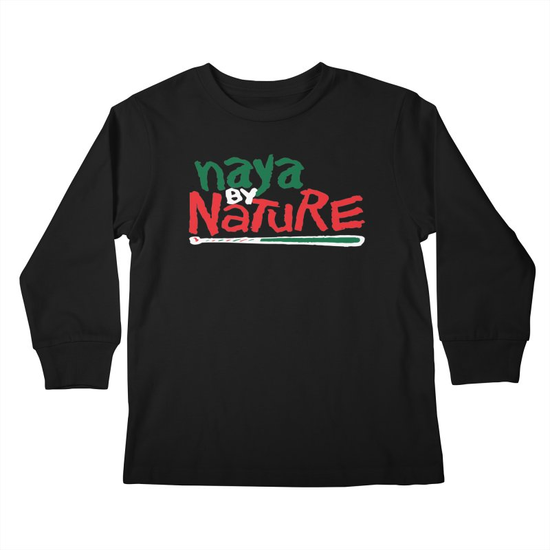 Naya By Nature Kids Longsleeve T-Shirt by The Schwaggering