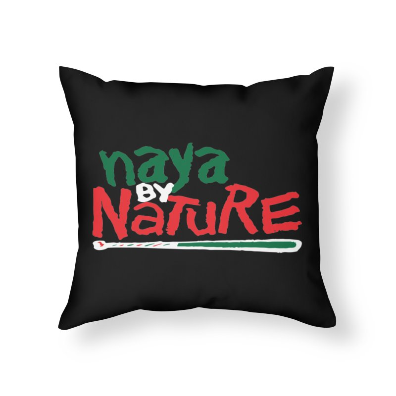 Naya By Nature Home Throw Pillow by The Schwaggering