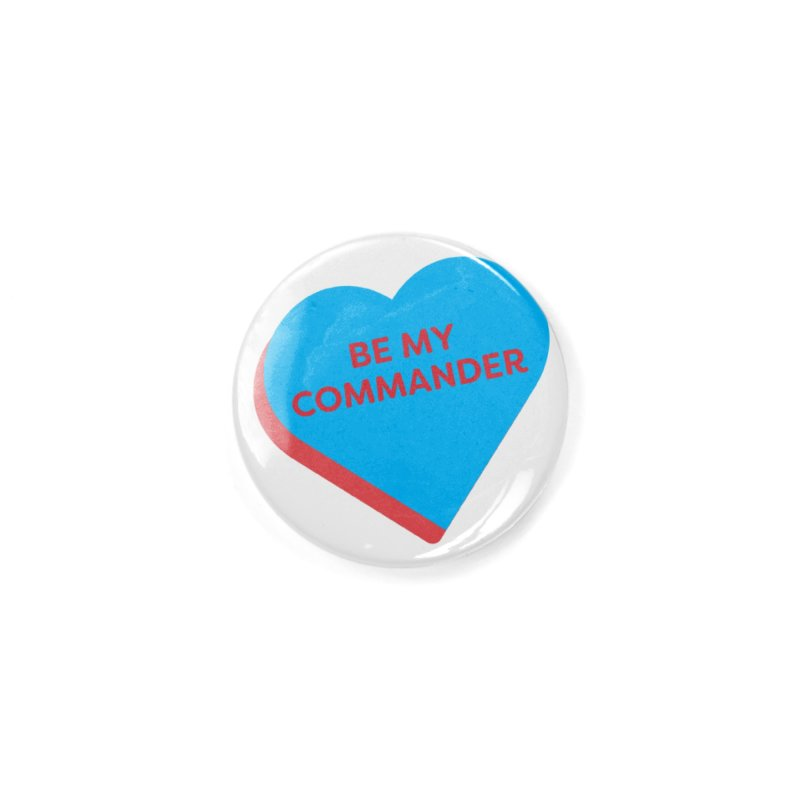 Be My Commander (Magic the Gathering Valentine - Commander) Accessories Button by The Schwaggering