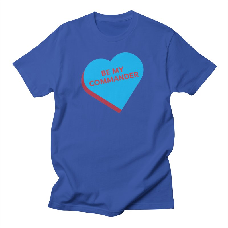 Be My Commander (Magic the Gathering Valentine - Commander) Men's T-Shirt by The Schwaggering