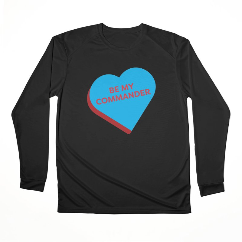 Be My Commander (Magic the Gathering Valentine - Commander) Men's Longsleeve T-Shirt by The Schwaggering