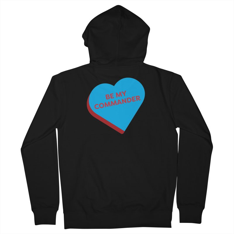 Be My Commander (Magic the Gathering Valentine - Commander) Men's Zip-Up Hoody by The Schwaggering