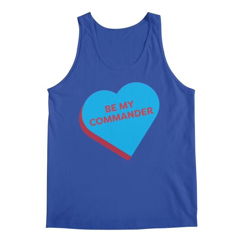 Be My Commander (Magic the Gathering Valentine - Commander) Men's Tank by The Schwaggering