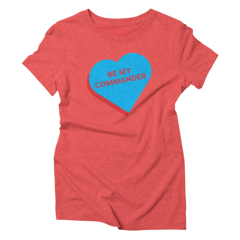 Be My Commander (Magic the Gathering Valentine - Commander) Women's T-Shirt by The Schwaggering